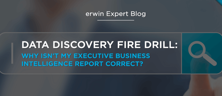 Data Discovery Fire Drill: Why Isn't My Executive Business Intelligence Report Correct?